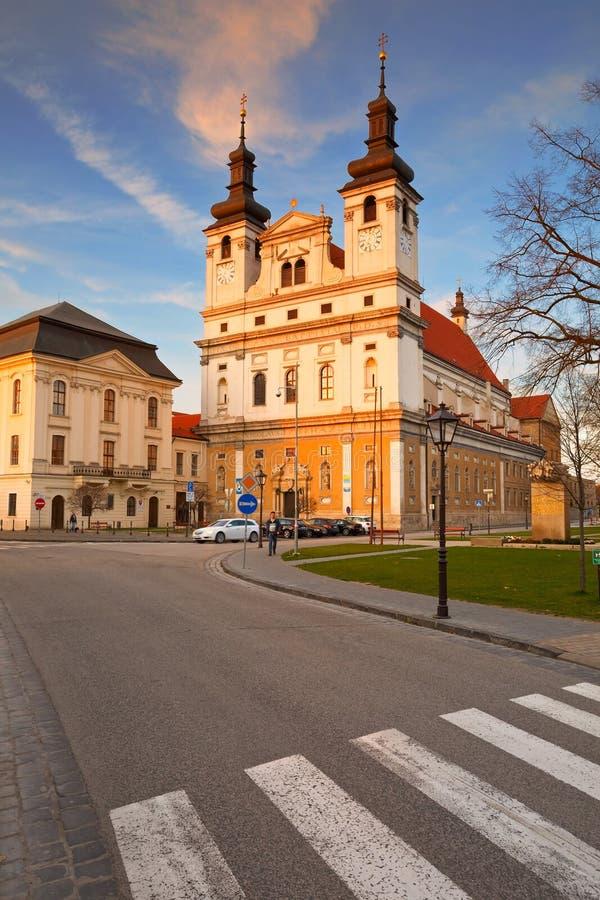 Trnava,斯洛伐克 库存照片