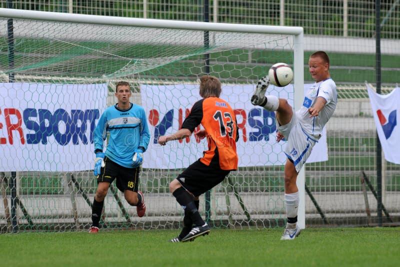 Download Trnava - Djursholm Soccer Game Editorial Photo - Image: 16364431