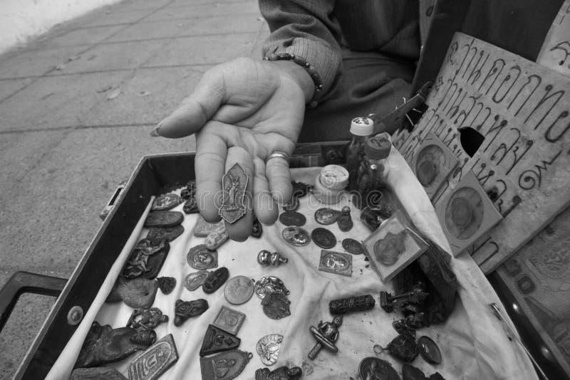 Tro i buddism fotografering för bildbyråer