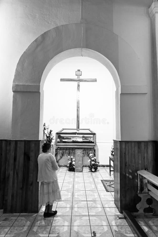 Tro i Jesus Christ royaltyfri fotografi
