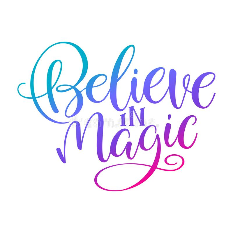Tro i magi stock illustrationer
