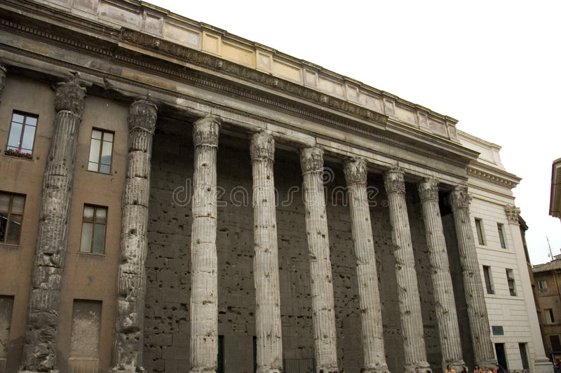 Troca conservada em estoque, Roma, Italy foto de stock royalty free