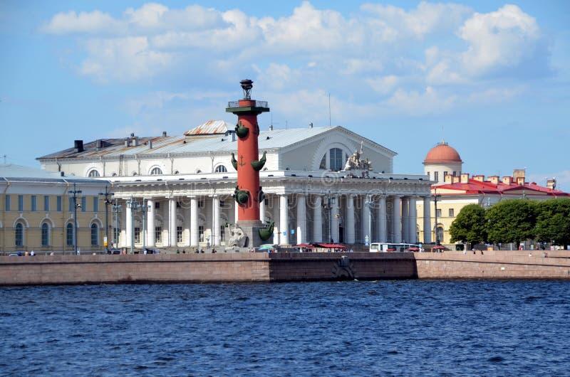 Troca conservada em estoque velha de St Petersburg imagens de stock royalty free
