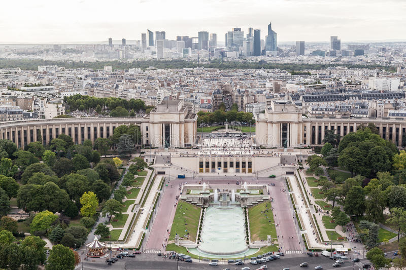 Download Trocadero Gardens Paris stock image. Image of arch, french - 39503539