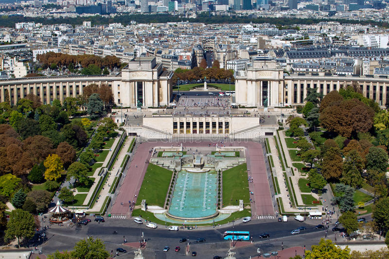 Download The Trocadero In Paris, France Stock Photo - Image: 21329782