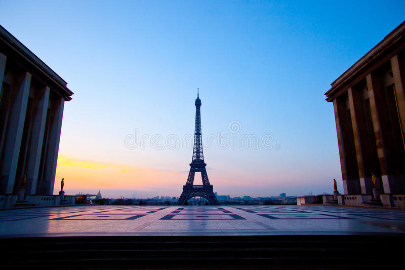 Trocadero, Paryż obrazy stock