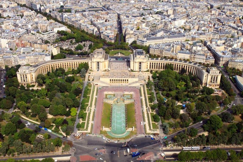 Download Trocaderoen arkivfoto. Bild av monument, bygger, ovanför - 27284430