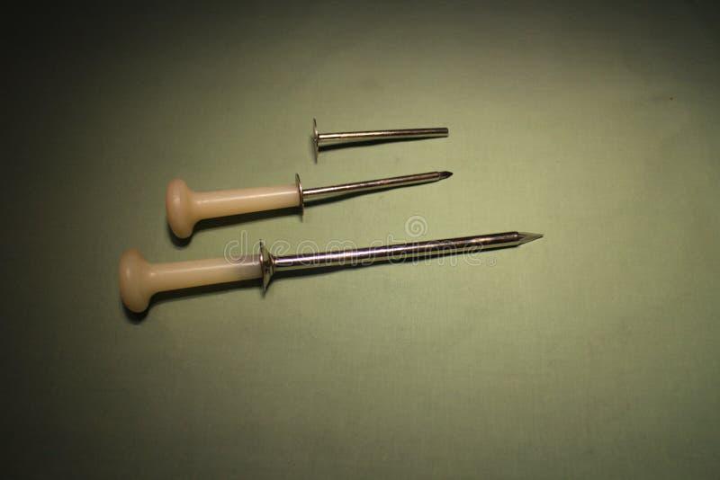 Trocar para a cirurgia laparoscopic pelo gado imagem de stock