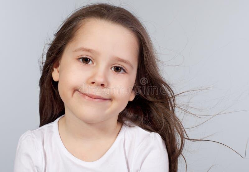 trochę śliczna dziewczyna zdjęcia stock
