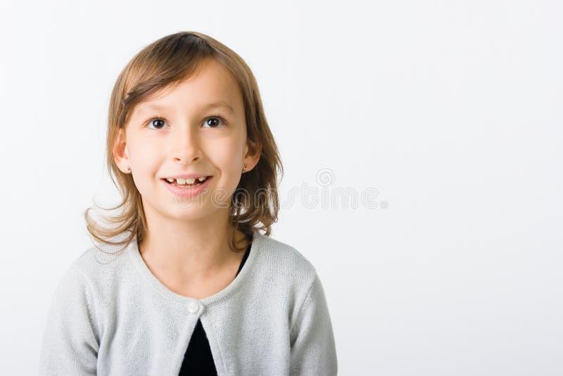 trochę śmieszna dziewczyna zdjęcia stock