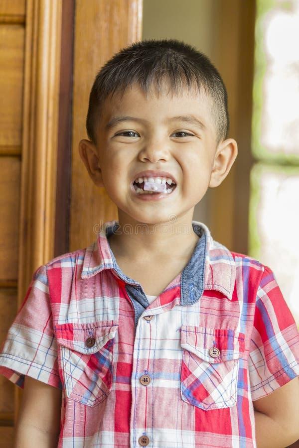 trochę azjatykcia chłopiec zdjęcia royalty free