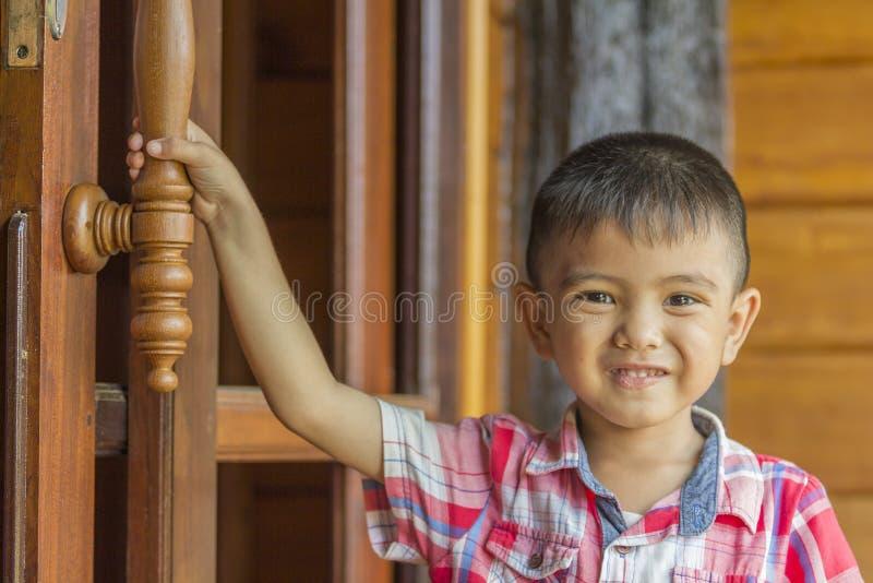 trochę azjatykcia chłopiec fotografia stock