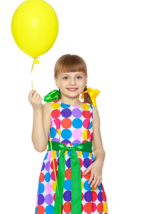 trochę balonowa dziewczyna zdjęcie stock