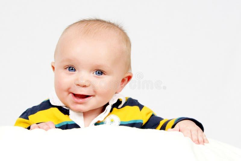 trochę białego chłopca obrazy stock