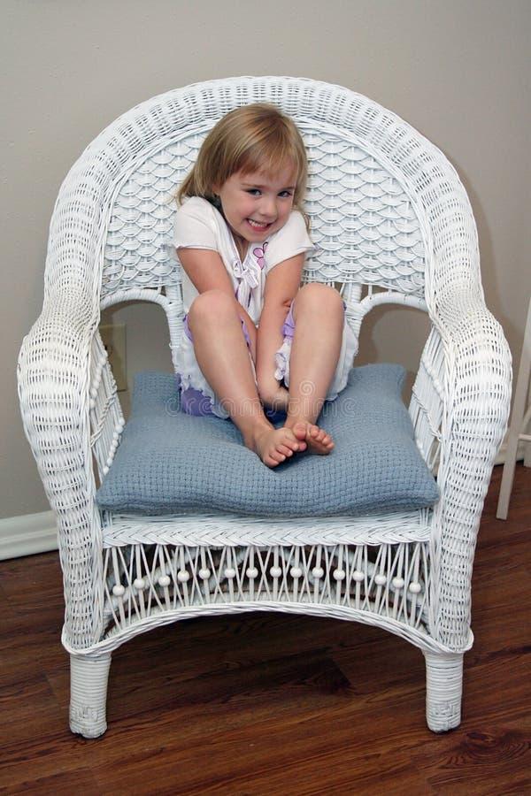 trochę nieśmiała dziewczyno obraz royalty free