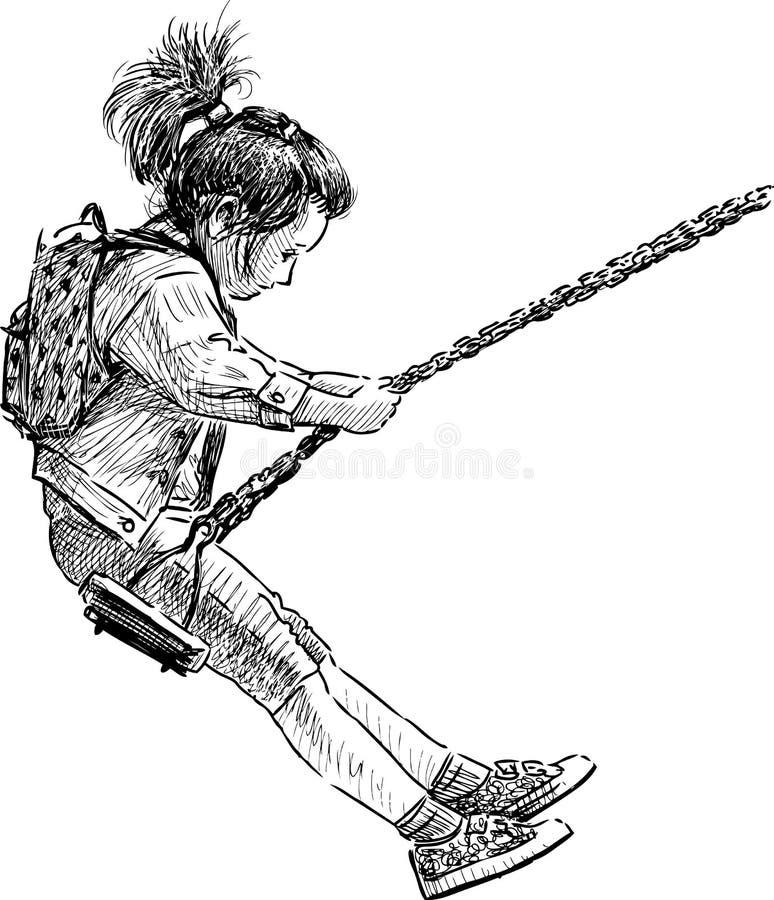 trochę się dziewczyny ilustracji
