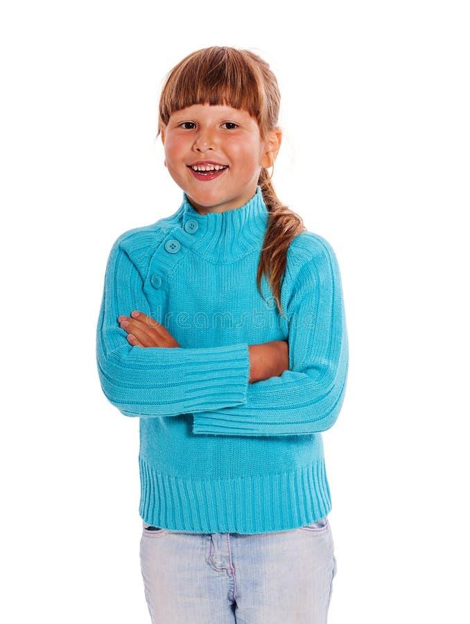 trochę ufna dziewczyna zdjęcia stock