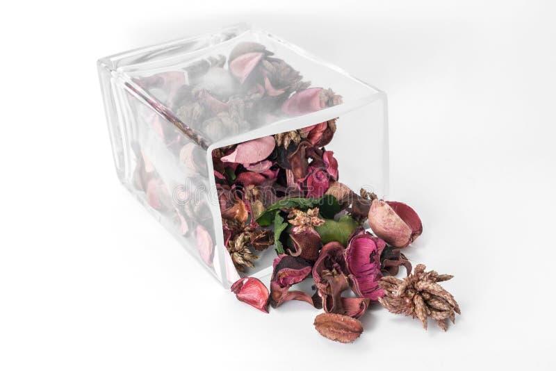 Trockenblumengesteck lizenzfreies stockbild
