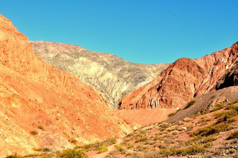 Trockene Berge stockfoto