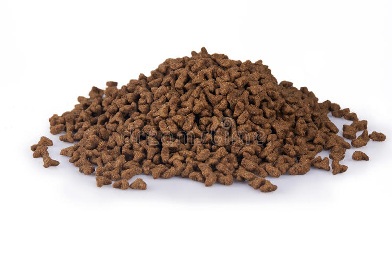 Trockene Cat Food stockfotos
