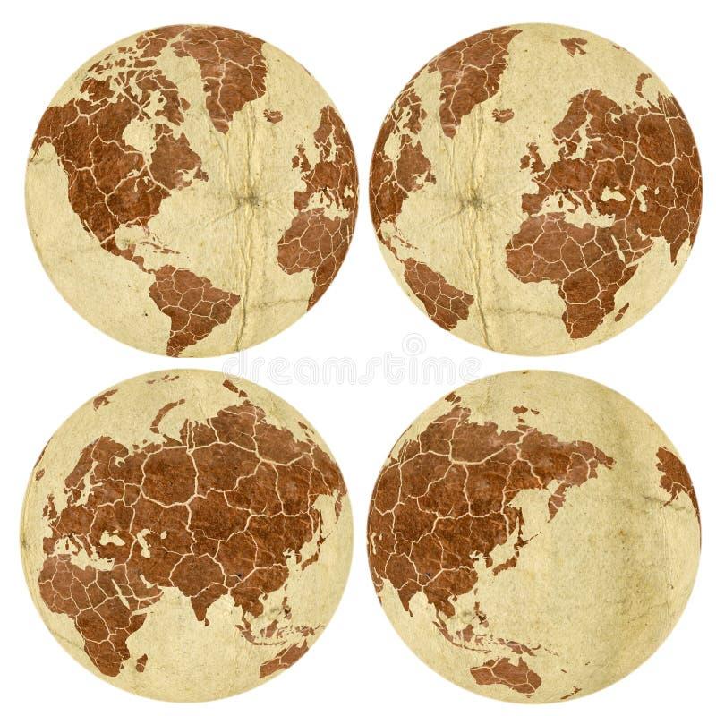 Download Trockene Erde stock abbildung. Illustration von braun - 8564483