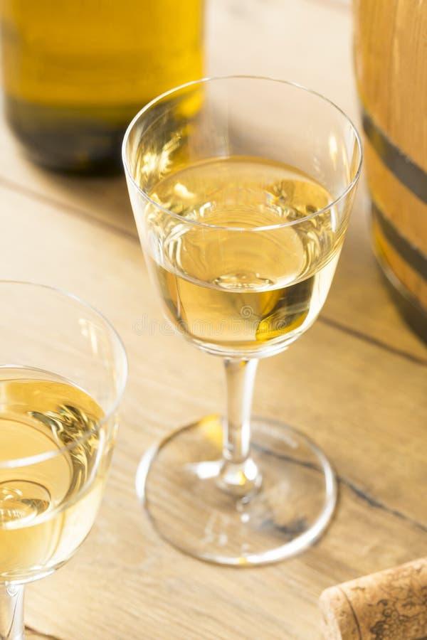 Trockene Franzosen Sherry Dessert Wine lizenzfreies stockbild
