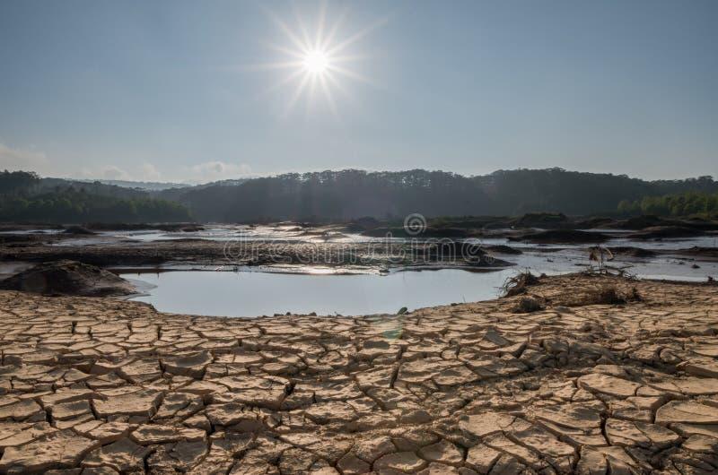 Trockene Regionen, Dürre lizenzfreie stockfotografie