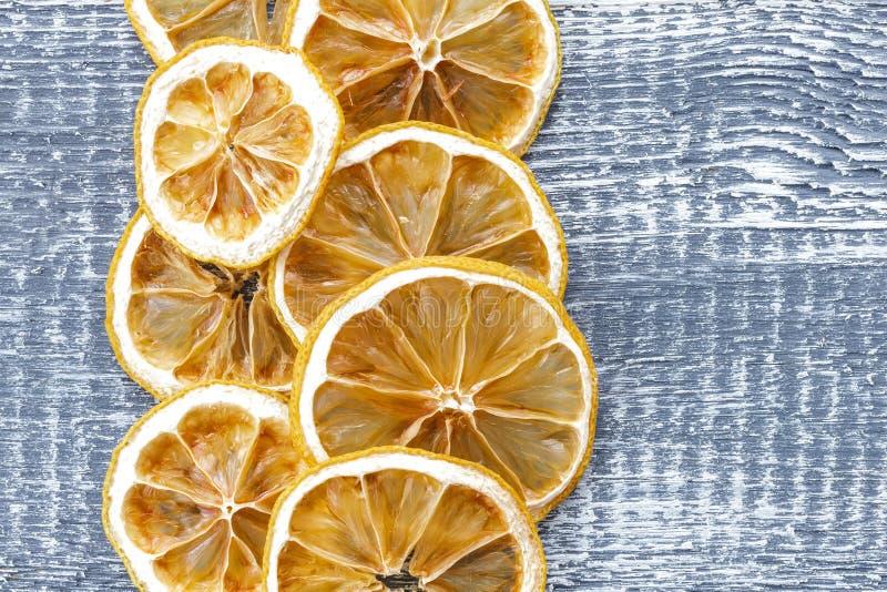Trockene Zitrone stockbild