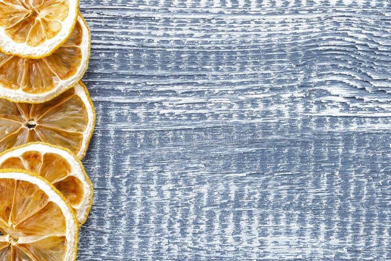 Trockene Zitrone stockfotografie