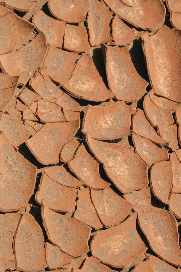 Trockener Boden stockbild