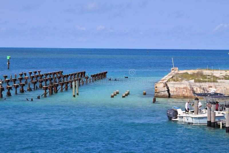 Trockener Tortugas Nationalpark lizenzfreie stockbilder