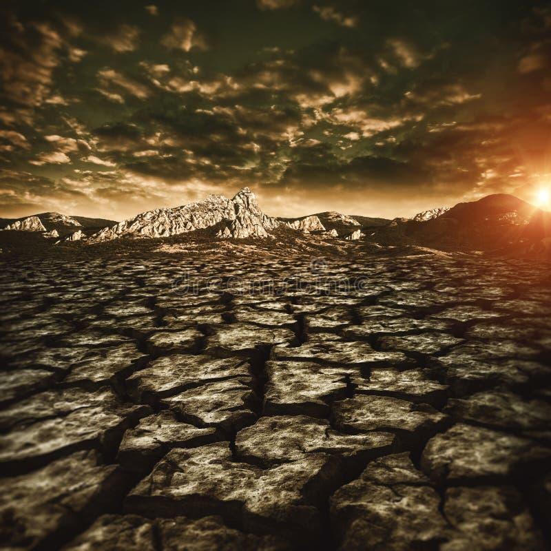 trockenes Klima bei Thailand stockbild
