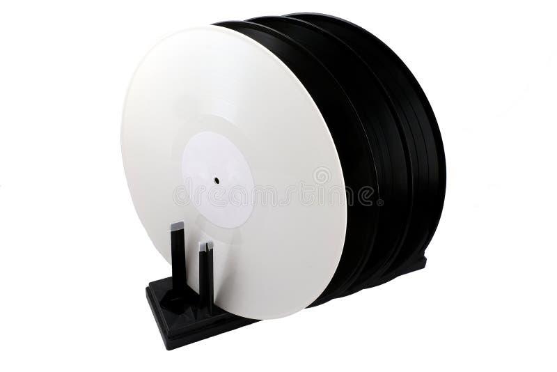 Trocknen für Vinylaufzeichnungen stockfotografie