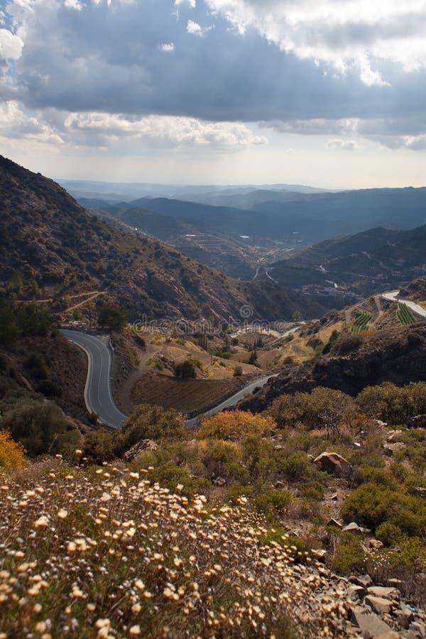 Download Trodos mountains. Cyprus. stock image. Image of shine - 22909425