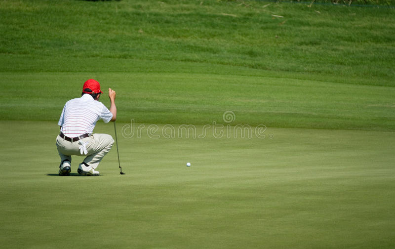 trofé 2010 för turnering för asia Europa golf kunglig vs arkivfoton