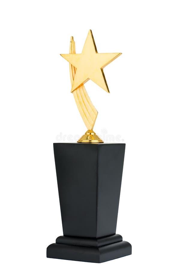 Troféu da concessão imagem de stock