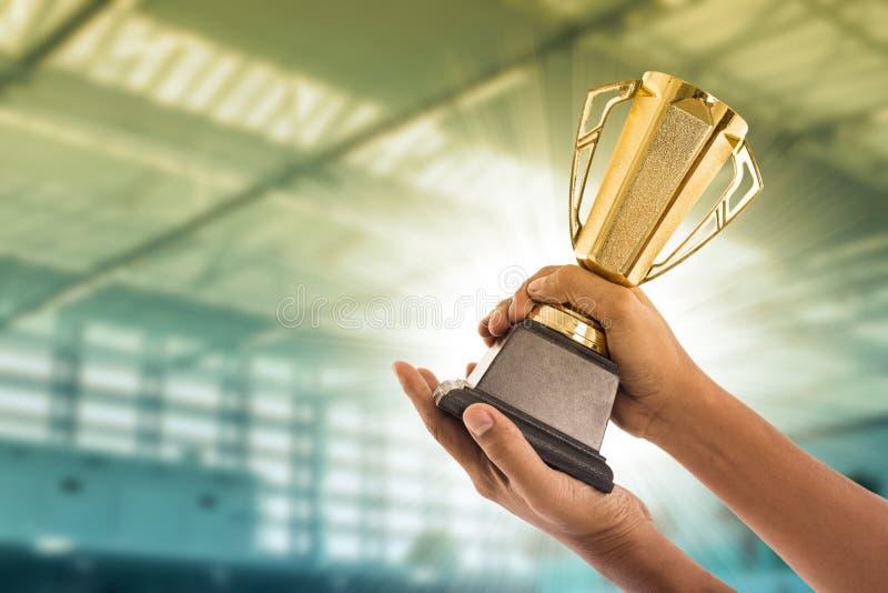 Troféu da concessão fotos de stock
