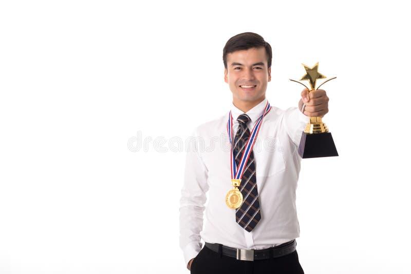 Troféu da concessão imagem de stock royalty free