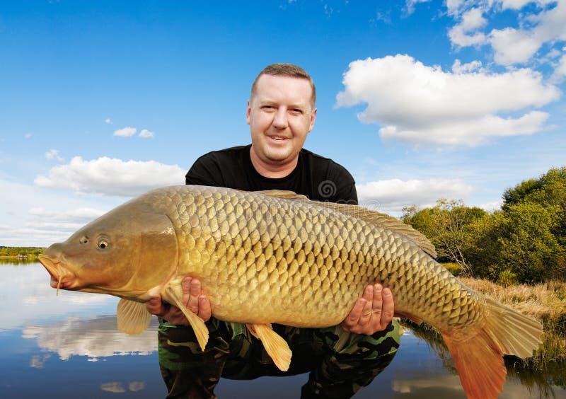 Troféu da pesca imagem de stock royalty free