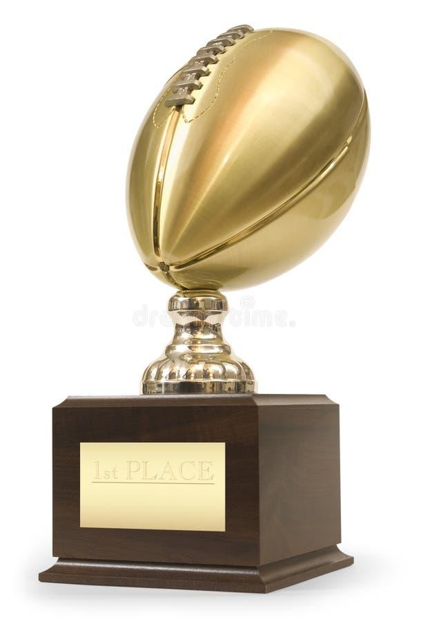Troféu de Superbowl imagens de stock