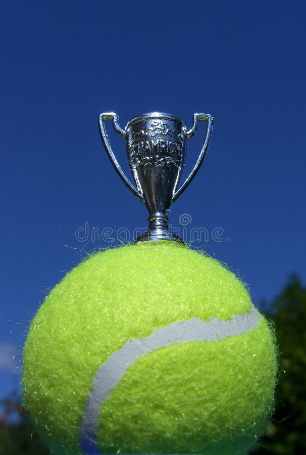 Troféu Do Campeão Do Tênis Imagens de Stock
