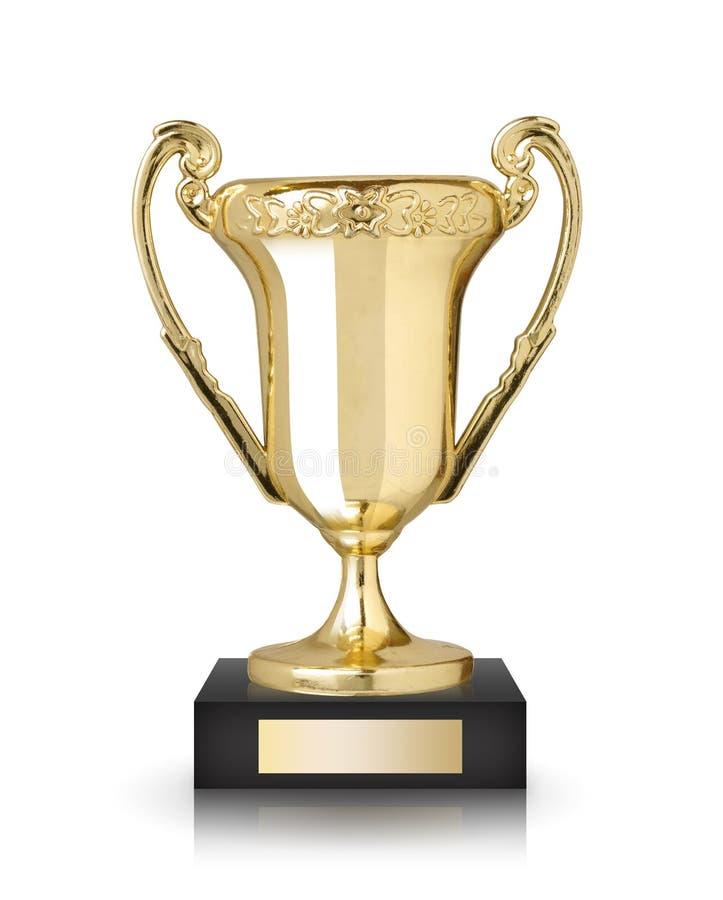 Troféu do copo imagem de stock