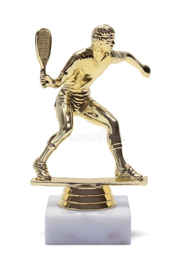 Troféu do tênis fotografia de stock royalty free