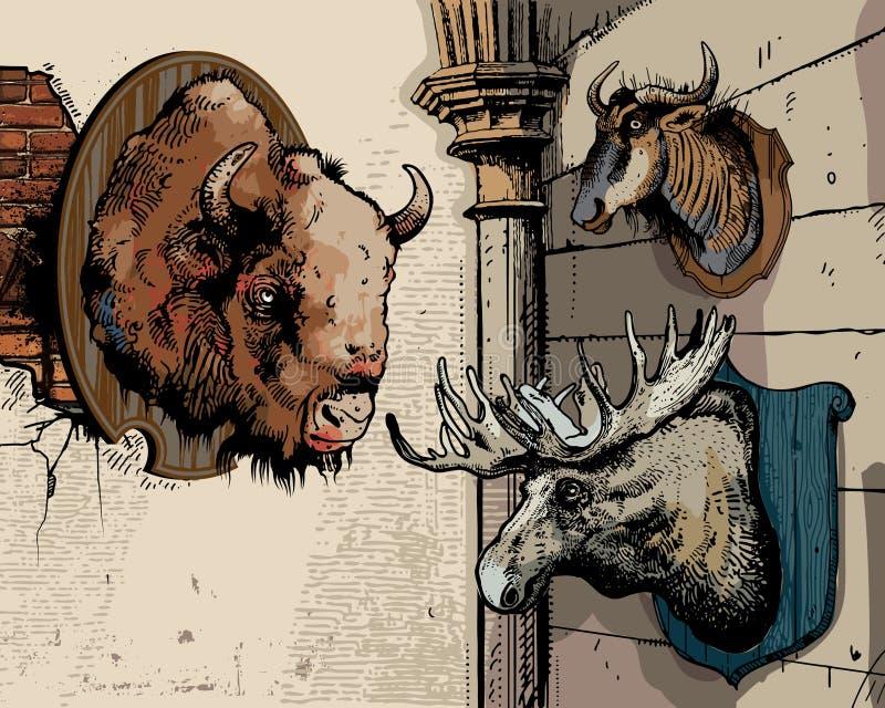 Troféus ilustração do vetor
