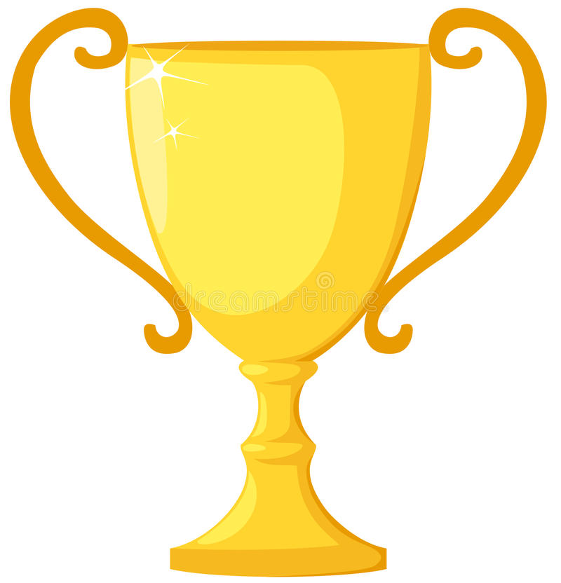 Trofee royalty-vrije illustratie