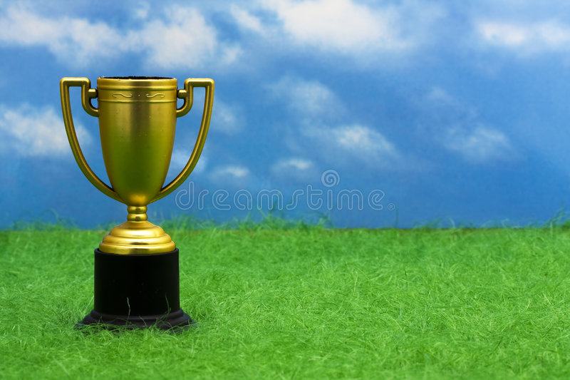 Trofee stock fotografie
