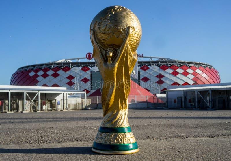 Trofee van de Wereldbeker van FIFA royalty-vrije stock fotografie