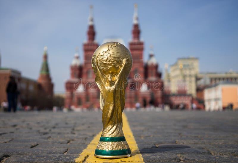 Trofee van de Wereldbeker van FIFA stock fotografie