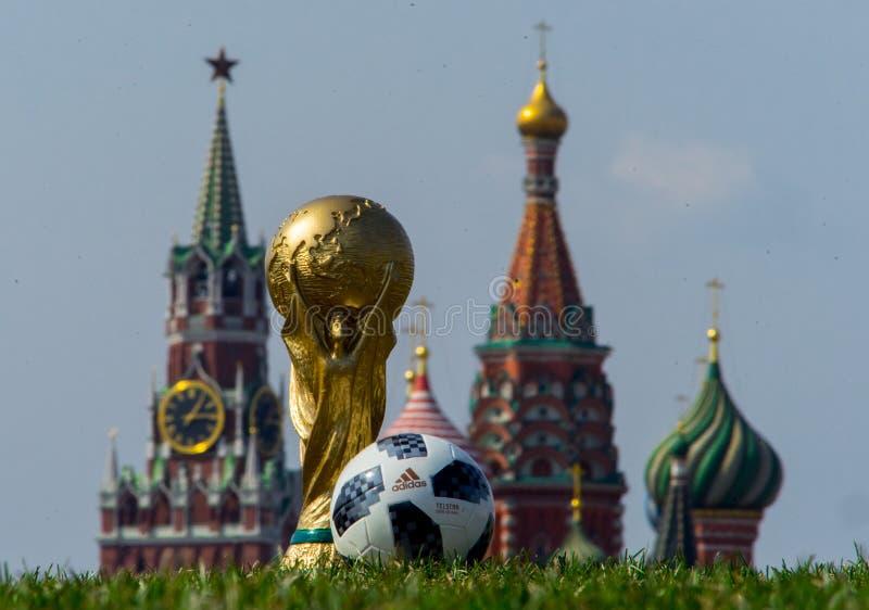 Trofee van de Wereldbeker van FIFA stock afbeeldingen