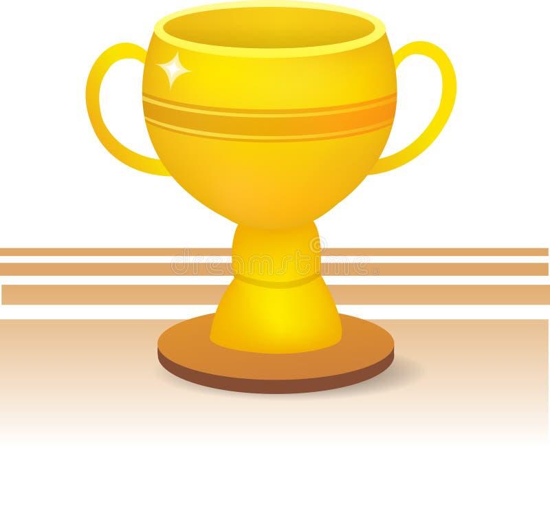 Trofeo illustrazione vettoriale